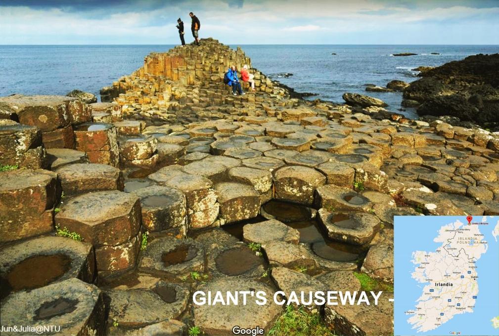Giants Causeway okolice Sligo
