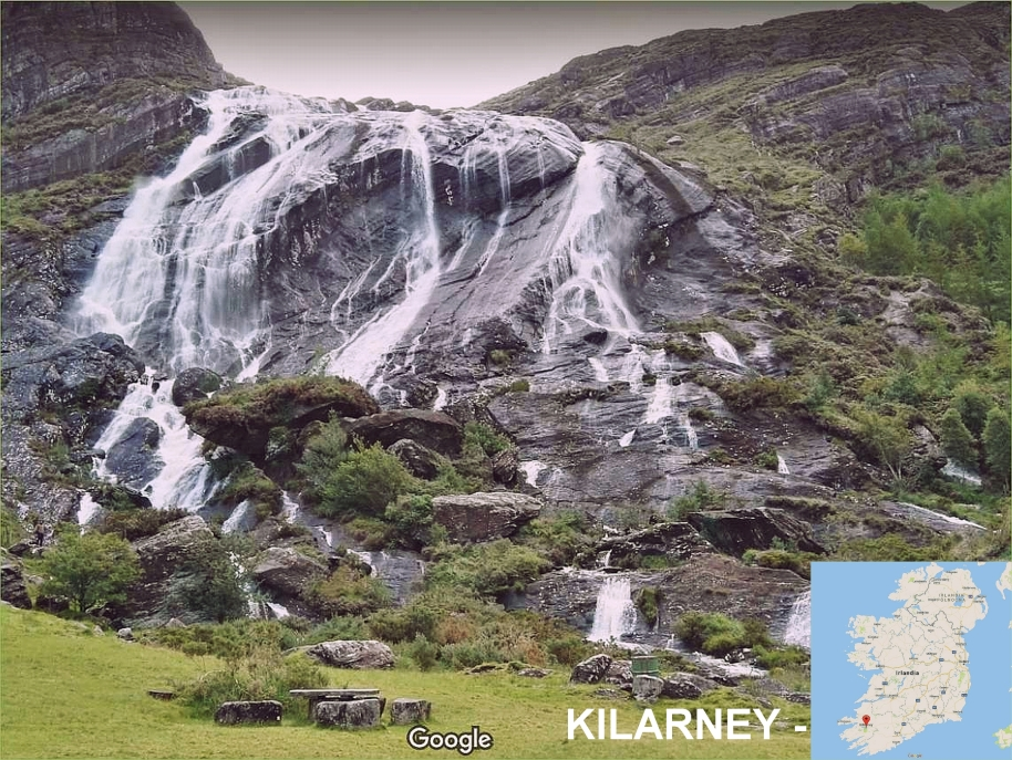 Killarney waterfall okolice Mallow