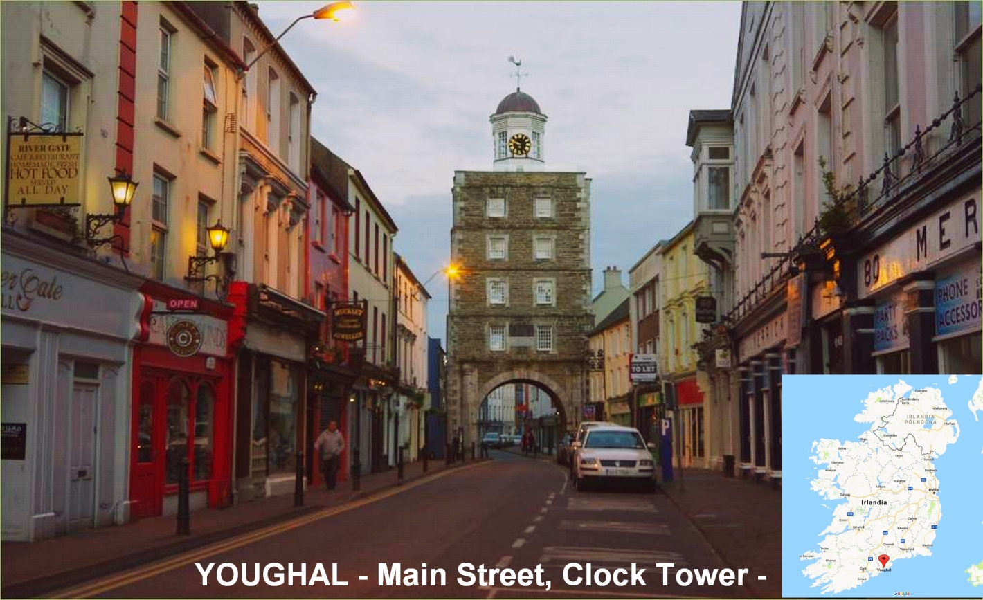 Youghal Main Street Clock Tower