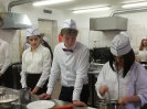 Uroczyste wprowadzenie klas pierwszych do pracowni gastronomicznej